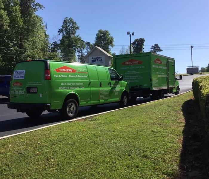 SERVPRO performs mitigation at a local church