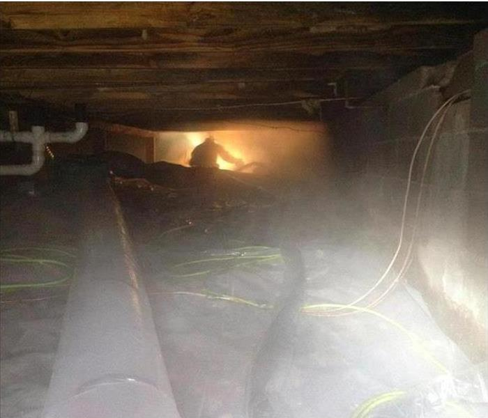 Dry Ice Blasting for Mold Remediation