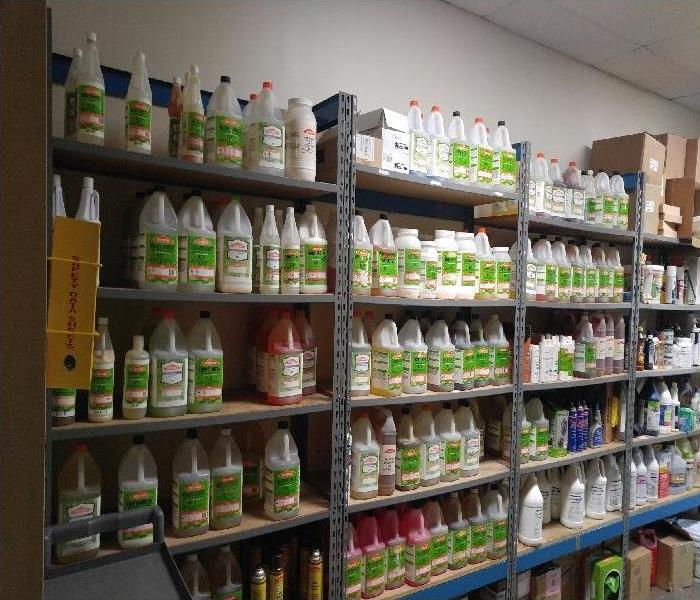 SERVPRO's Supply Room