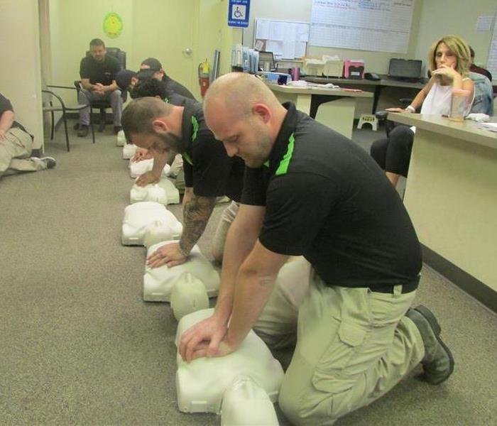 General SERVPRO® Gets CPR Training